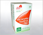 Nicorette Gum 4mg Fresh Fruit